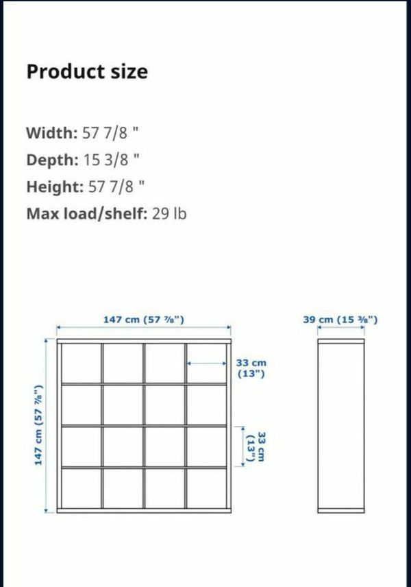 Kallax IKEA Shelf Unit 4x4