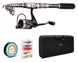 Plusinno fishing rod combo for Sale in Portland, OR
