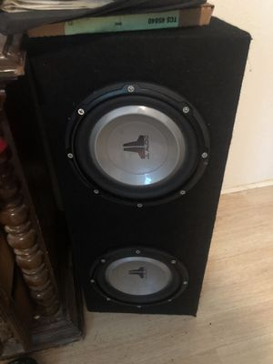Speakers subs for Sale in Richmond, TX