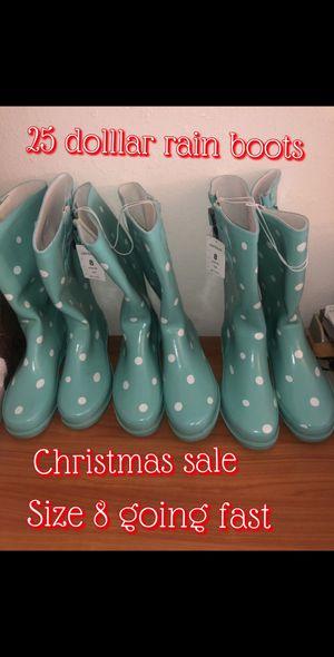 Rain boot sale! 1 day sale for Sale in Sacramento, CA