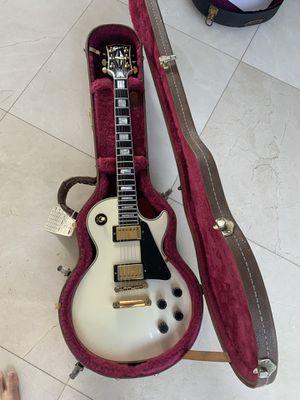 1997 alpine white Gibson Les Paul custom for Sale in Beverly Hills, CA