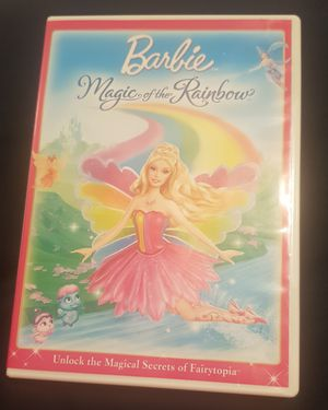 Barbie Magic of the Rainbow DVD for Sale in Columbia, SC
