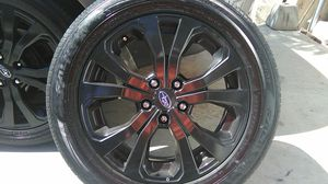 """Brand new all black Subaru 18"""" rims with tires... for Sale in Oceanside, CA"""