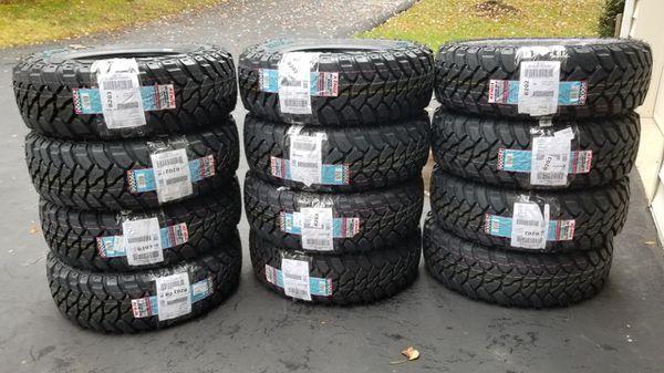 Kenda Klever M/T KR29 LT245/75R16 E 10 Ply 120/116Q OWL Tire(4)