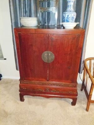 Authentic Chinese antique cabinet for Sale in Austin, TX