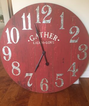 Pier 1 Inports. wall clock for Sale in Long Beach, CA