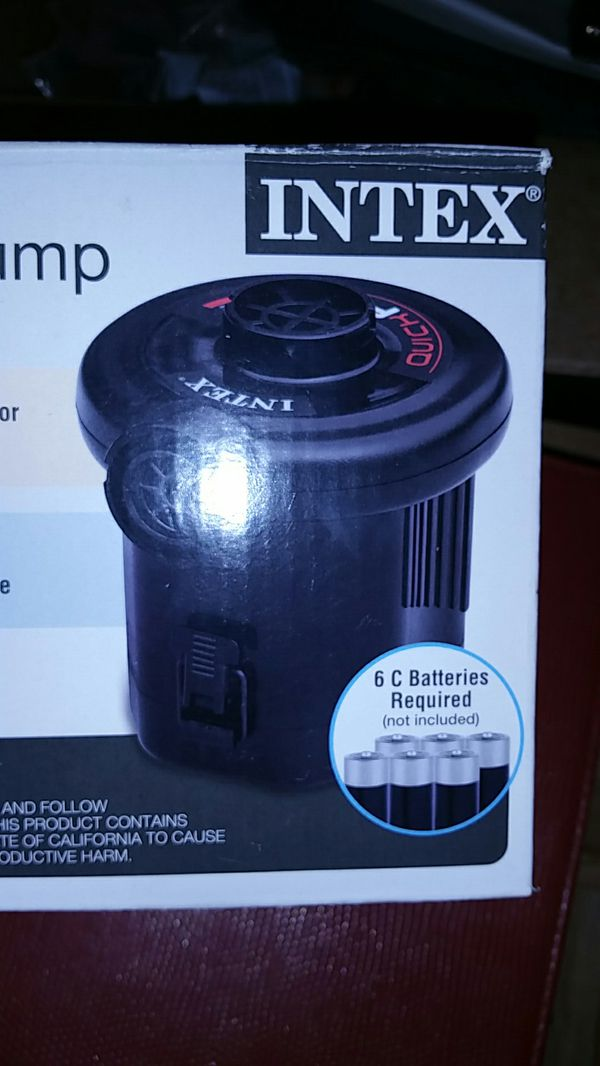 Intex Quick Fill Battery Powered Air Pump
