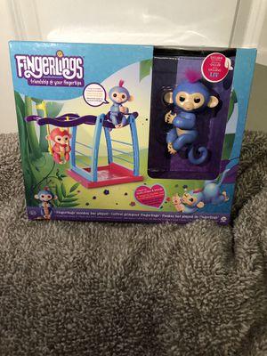 New* Fingerlings swing set toy for Sale in Houston, TX