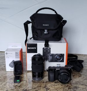 SONY ALPHA ILCE-6000Y for Sale in Millbrae, CA