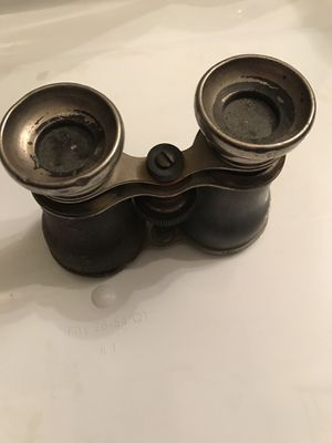 Antique French binoculars for Sale in Monticello, NY