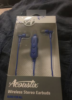 Acoustic Wireless Stereo Earbuds for Sale in Los Angeles, CA