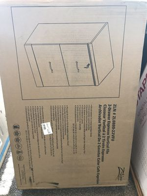 Z-Line Designs 2 Drawer Vertical File Cabinet - Espresso for Sale in Quincy, IL