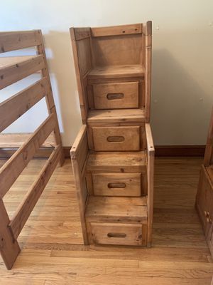 5 piece bunk bed set for sale $800 for Sale in Chicago, IL