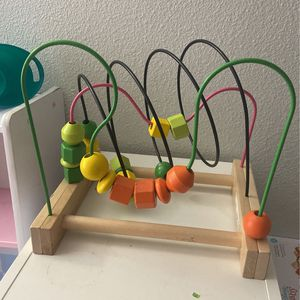 Ikea Mula Bead Roller/Bead Maze Toy for Sale in Altamonte Springs, FL