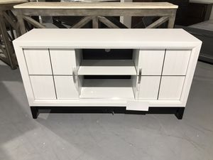 Tv stand new rustic like sliding drawers for Sale in Houston, TX
