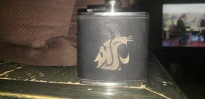 Washington State University Flask. Leather bound. for Sale in Spokane, WA