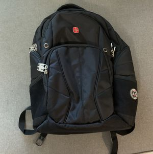 Swiss Gear ScanSmart Black Computer/Tablet/Laptop Airflow Backpack for Sale in St. Petersburg, FL