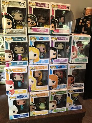 Disney Princess Collection Funko Pops for Sale in Pflugerville, TX