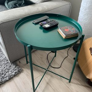 GLADON Side Table in Dark Green for Sale in Washington, DC
