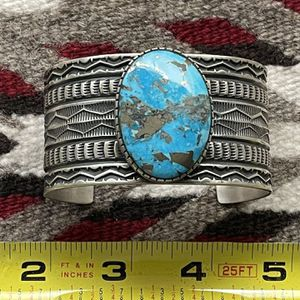 Native American Turquoise Navajo Bracelet for Sale in Tempe, AZ