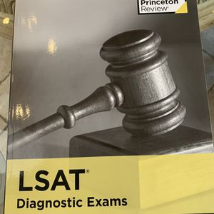 The Princeton Review's LSAT Diagnostic Exams Book for Sale in Pompano Beach, FL