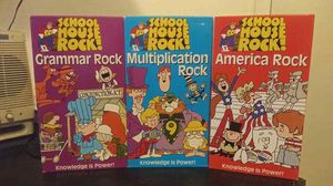 School House Rock VHS 3 Tapes 1995 for Sale in Orlando, FL