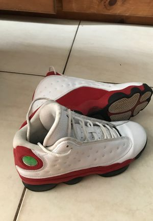Jordan 13's Retro Size 7 in Men Red & White for Sale in Fort Lauderdale, FL