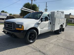 2000 Ford F-350 dually utility 7.3 L DIESEL for Sale in St.Petersburg, FL