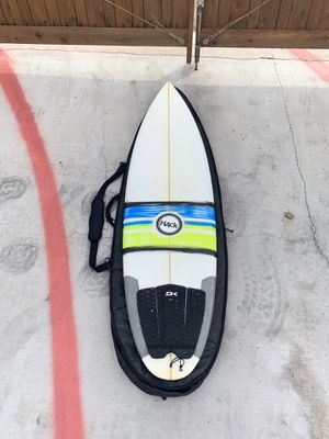 6'0 hack surfboard for Sale in Lakeside, CA