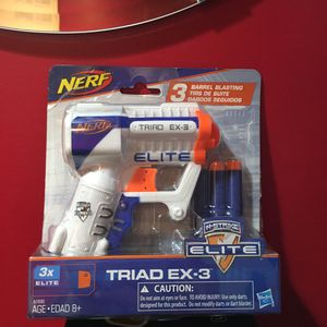 2 Nerf Guns (Brand New) Triad EX-3 for Sale in Brooklyn, NY