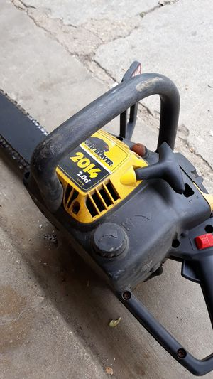 Eager beaver 2014 2.0ci chainsaw for Sale in Downers Grove, IL
