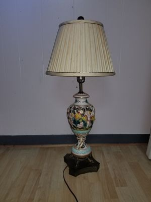 antique ceramic lamp for Sale in West Bloomfield Township, MI