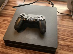 PS4 Slim Console With Controller for Sale in Orlando, FL
