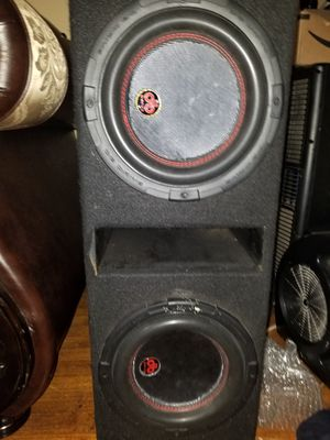 Massive N4 2000 watts rms amp and db drive platinum series 600 rms subs for Sale in Houston, TX