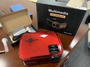Crenova 1080p profession projector (true native 1080p) XPE660 (Red) late 2019 model for Sale in Hacienda Heights, CA