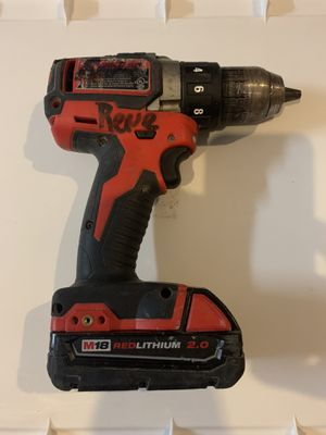 Drill Milwaukee USED with Battery for Sale in Miami, FL