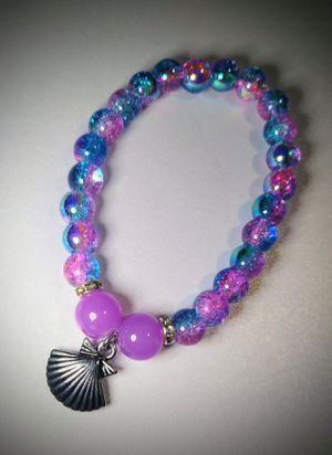 Galaxy Seashell beaded bracelet for Sale in Spring, TX