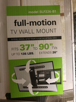 """SANUS Simplicity 37"""" - 90"""" Full-Motion TV Mount for Sale in Escondido, CA"""