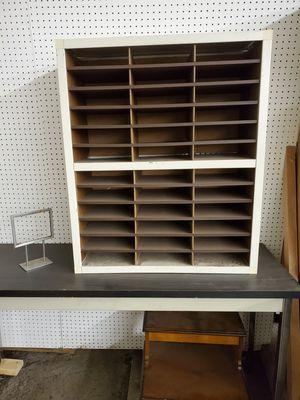 Vintage Mid Century Metal Office Furniture Desk Organizer Liberty Literature Sorter for Sale in Cincinnati, OH