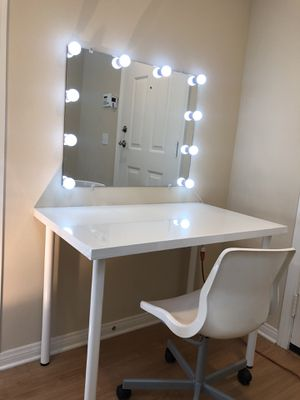 LED Hollywood Makeup Mirror Lighted Vanity Dimmable for Sale in Irvine, CA