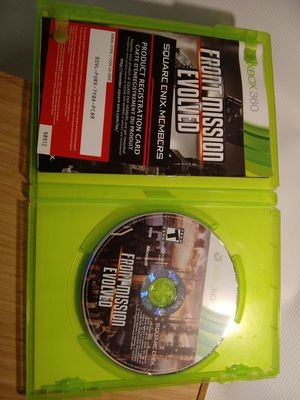 front mission evolved Titan games - Xbox 360 - player - TV - watch - kids - teens - shooter - action I can DVD - c d - player - tape for Sale in Naples, FL