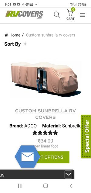 RV Trailer cover for Sale in San Diego, CA