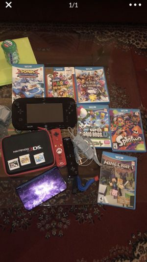 Wii U + Nintendo did + games for Sale in Arlington, VA