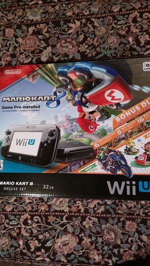 *BRAND NEW!* Nintendo Wii U Deluxe console Mario Kart 8 bundle with Splatoon for Sale in Phoenix, AZ
