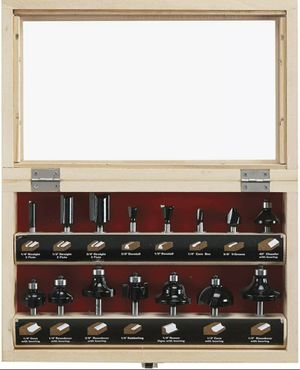 Router Bit Set 15pc Skil for Sale in New York, NY