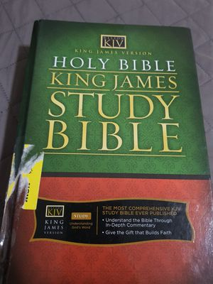 King James study bible for Sale in Brooklyn, NY