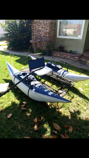 Inflatable pontoon boat for Sale in West Covina, CA