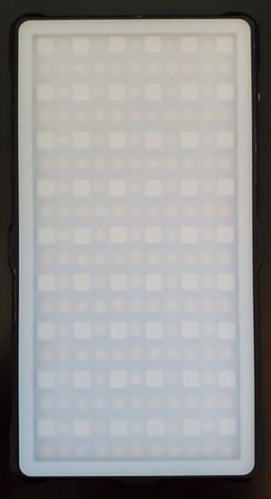 Two pixel rgb led video light for Sale in Richmond, VA