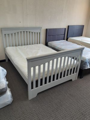 Memory Foam Full Size Mattress & Bed Frame for Sale in Florissant, MO