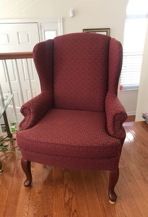 Mauve Wingback Chairs for Sale in Chantilly, VA